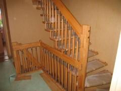 Geländer im Zwischengeschoss